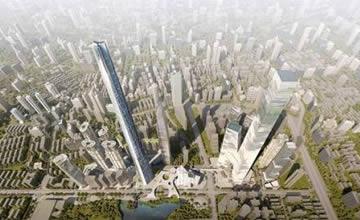 中国某地建超700米高摩天大楼 中国最高!