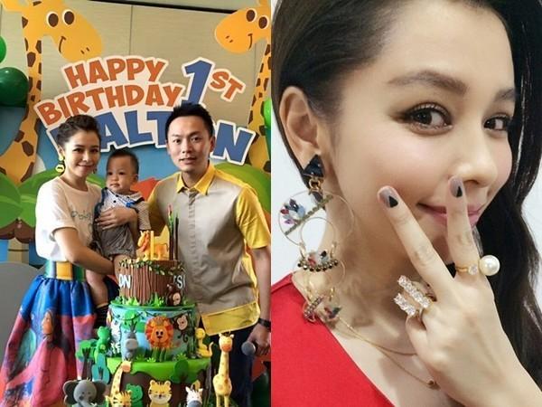 【星娱TV】徐若瑄为儿子办周岁生日派对 一家三口罕见同框
