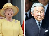 日本天皇与英国女王完全不一样?
