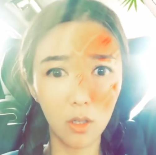 【星娱TV】薛凯琪假装被排球打中头 精灵搞怪萌坏粉丝