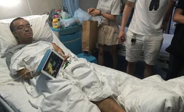 重庆DOTA玩家患重病 冠军战队医院探望
