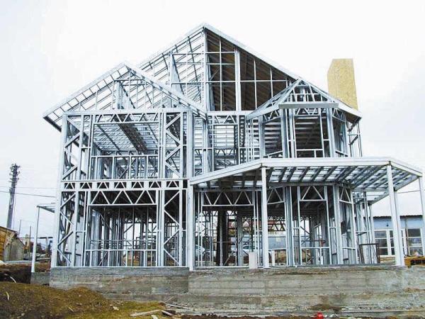 钢结构的装配式建筑.