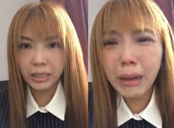 """[爱八卦]女星因拍""""王宝强离婚电影""""遭抵制 直播痛哭急需钱"""