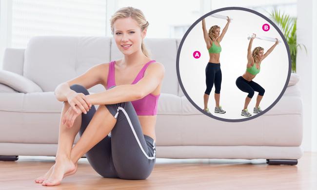 减肥运动图片步骤