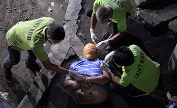 一周图片精选:菲律宾这样处理毒贩