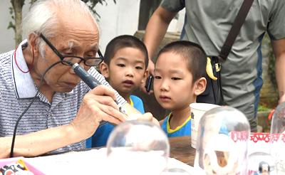合肥举行第十届中国国际文化博览会 非遗传承人大秀才艺