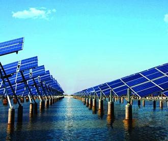 上可发电 下可养鱼!青岛首个渔光一体发电项目开建
