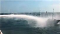 大陆渔船遭台湾水炮射击