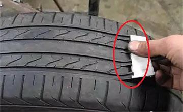 无良商家旧轮胎翻新仅需2分钟 看到过程震惊了