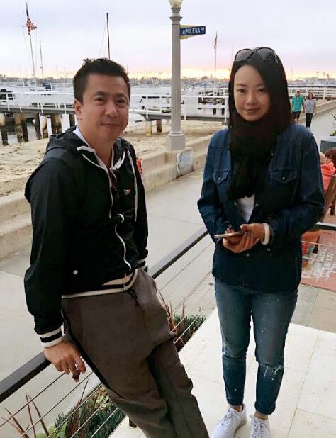 王中磊和妻子-王中磊一家甜蜜出游 18岁女儿长相甜美十分抢镜