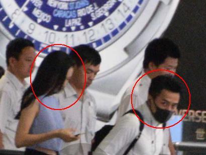 刘恺威王鸥曾被拍同机回沪 见记者在场立马分开