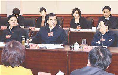 张庆伟:以新理念引领实践 走好加快转型绿色发展新路