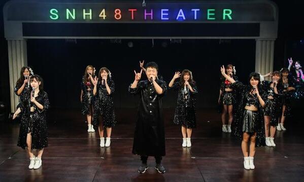 杜海涛与SNH48妹子共舞 被问沈梦辰害羞回应
