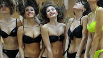 俄罗斯2016选美大赛:比基尼美女赛前彩排
