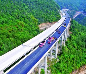 梁平:梁忠高速公路9日正式通车运营