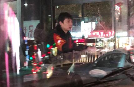 王思聪跑去开公交了?