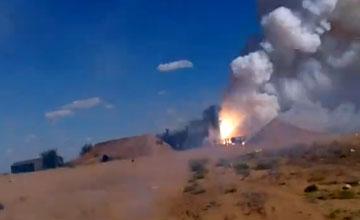 战备水平极差:俄S-300发射后坠落 烧毁3枚导弹