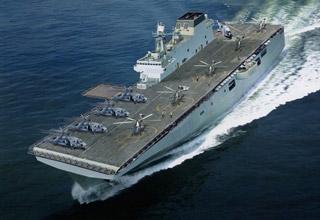 直10上舰是啥样?网友绘制中国未来两栖攻击舰