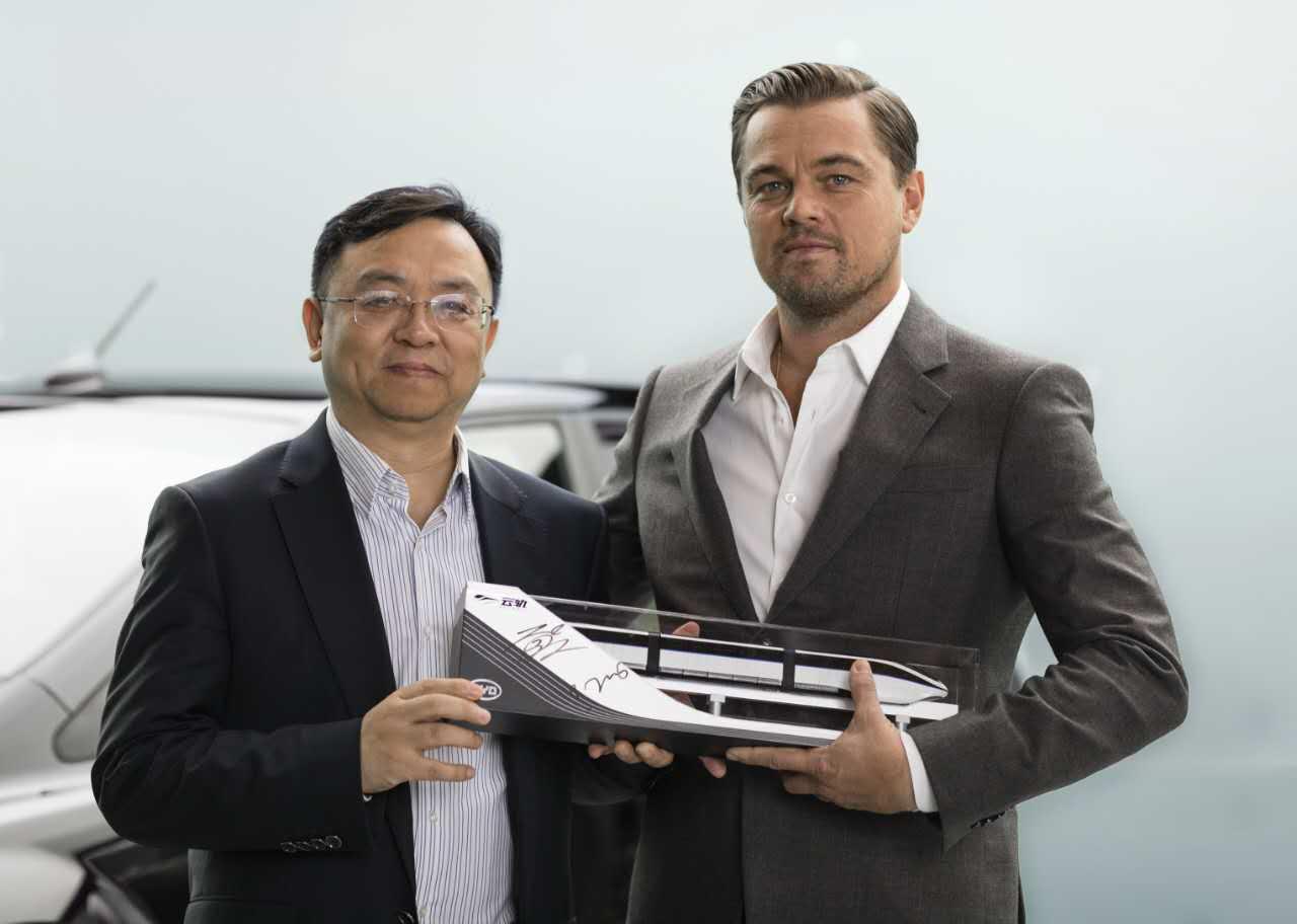 小李子又有新工作 成为比亚迪新能源车中国地区-UI设计