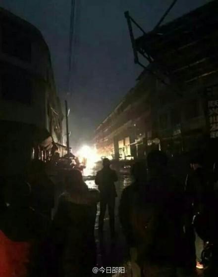 湖南发生液化气泄漏致爆炸7人受伤 经营户被处理