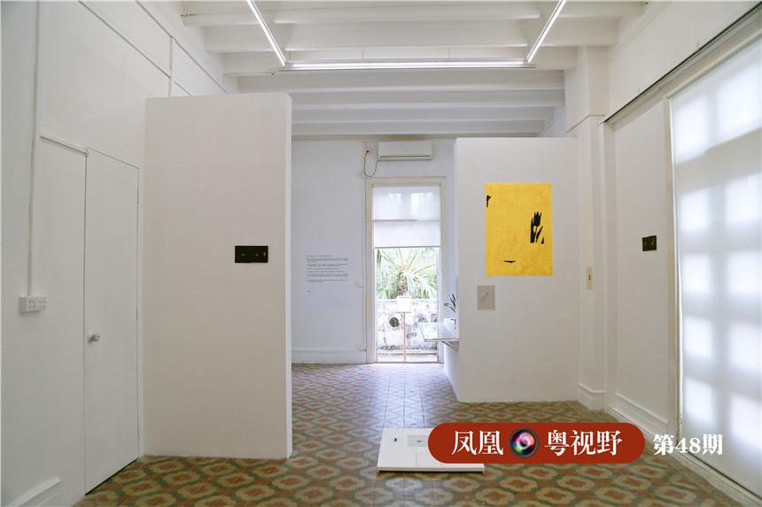 三楼是私人艺术空间,不定期对外开放。