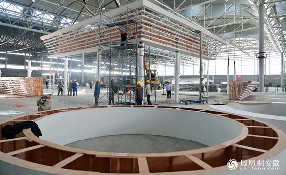 5月11日,布展单位会大规模进场施工