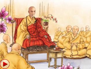 """""""画""""说加拿大佛教50年"""