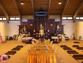 探访美国东部最大寺院纽约庄严寺