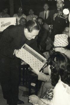 赵朴初年谱1955—1966(48-59岁):促进亚洲各国友好