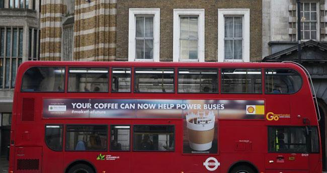 比电动太阳能还环保?伦敦全新黑科技大巴投入使用