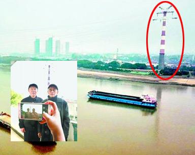 """57岁""""亚洲第一高压电塔""""在武汉退役"""