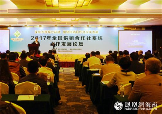 海南供销社首次举办全国供销社系统高端论坛