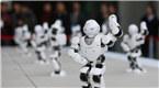 """机械萌!一群机器人跳起了""""广场舞"""""""