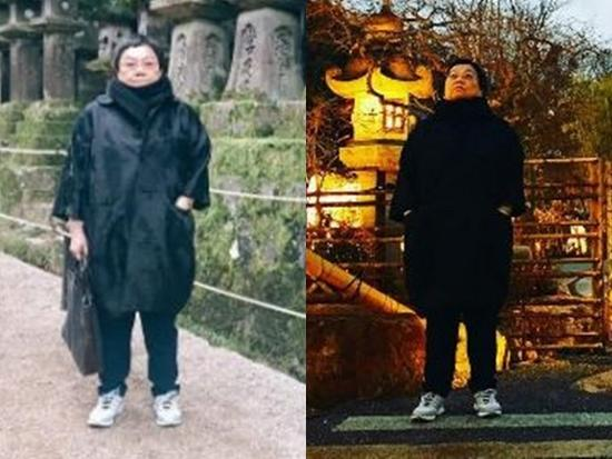 彭于晏和70岁妈妈同游日本 粉丝:婆婆好酷