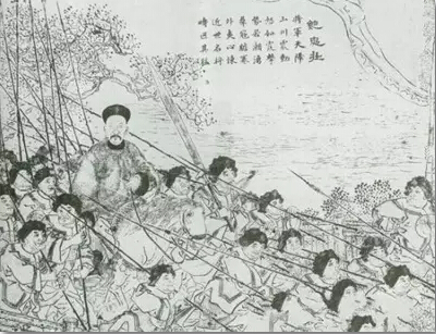 红军的手绘图片