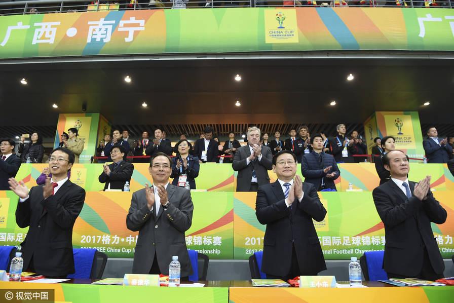 蔡振华:距世界杯扩军还很远 国足出线机会多了