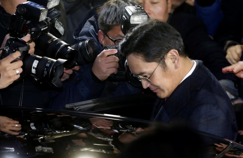 韩国检方申请逮捕三星掌门人李在镕 三星股价大跌