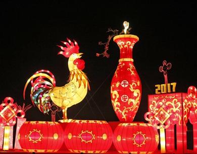 百名工匠倾力打造 青岛规模最大花灯节亮相西海岸