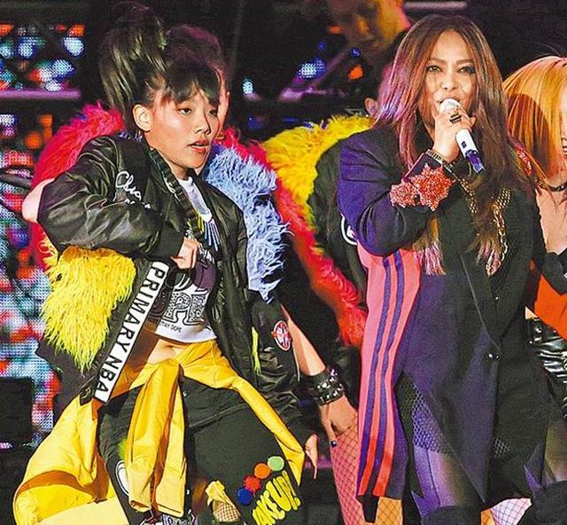 张惠妹16岁外甥女出道 曾登台飙舞大秀小蛮腰