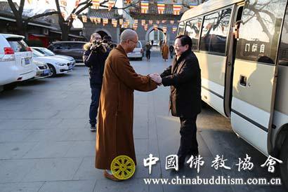 国家宗教局春节前走访慰问中国佛教协会