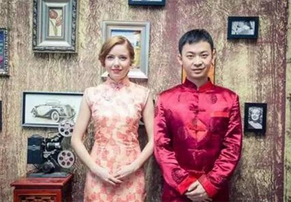 安徽小伙娶乌克兰美女办传统婚礼