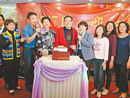 胡枫庆85岁大寿 想义子黎明再婚生小孩