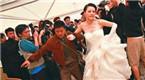 新娘遭前男友抢婚 姑娘一个耳光霸气回应