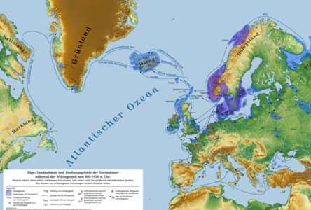 假设历史维京人成功移民北美 美洲历史会改写吗图片