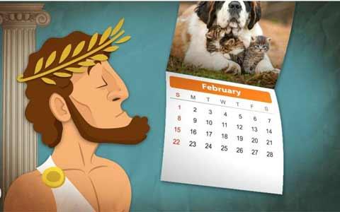 揭秘:为什么2月份会这么短?都是罗马人惹的祸