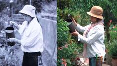不是每个60岁的女人都能像她一样花团锦簇