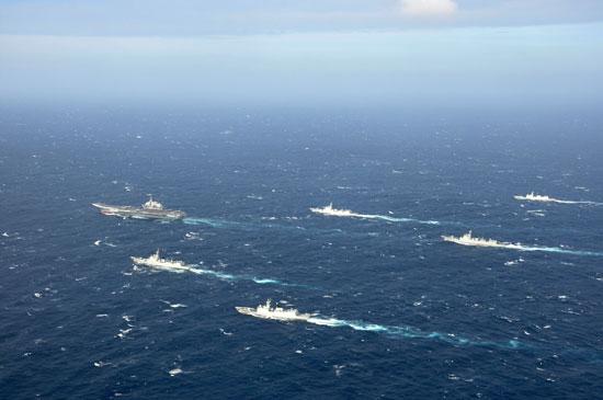 少将:中国不会像美国一样建12航母编队