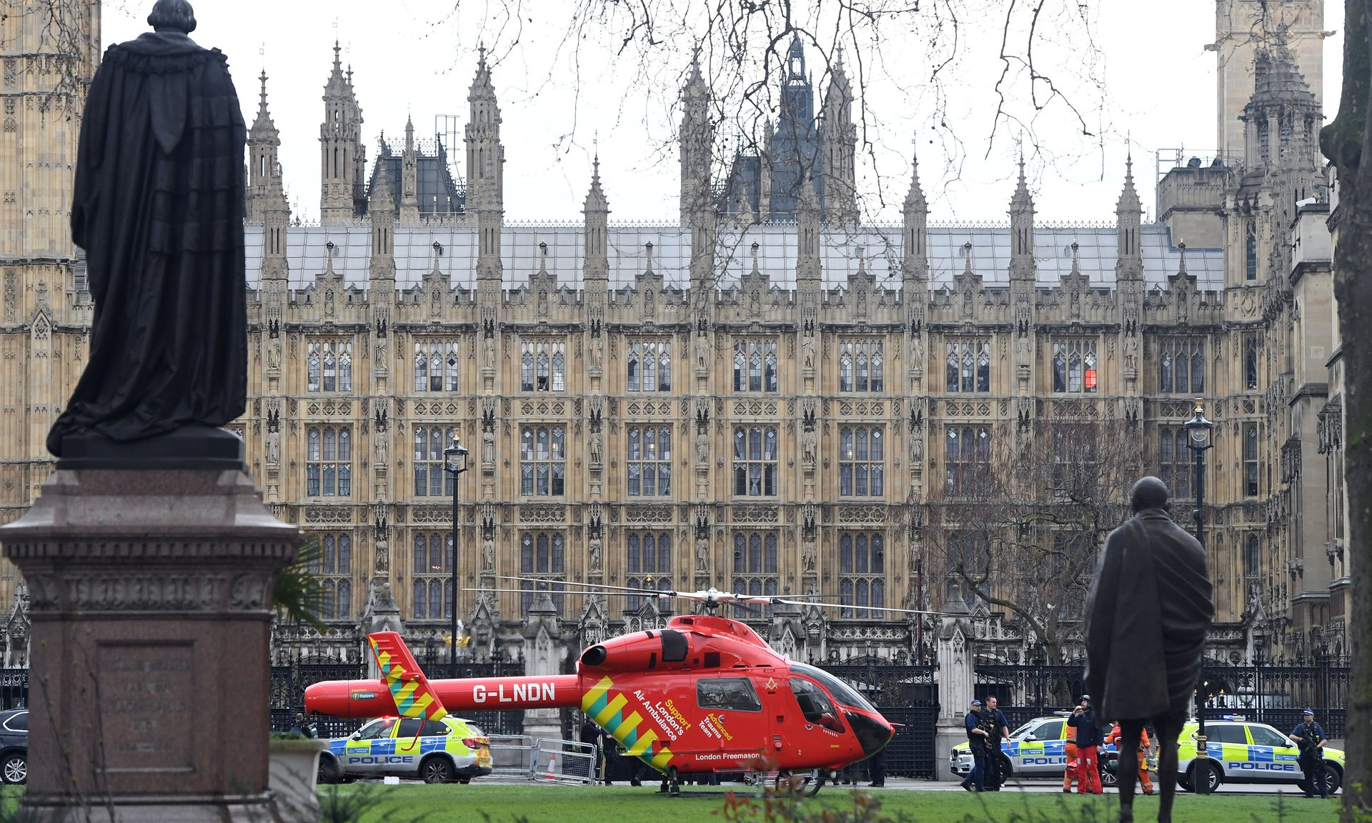 英国政治心脏遭遇恐怖袭击