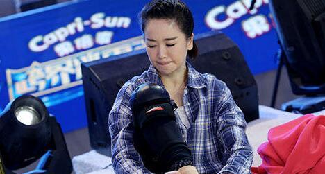 左小青录制节目因压力大痛哭:我只想坚持
