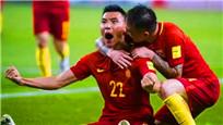 中国队1-0战胜韩国 于大宝破门精彩瞬间
